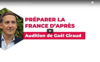 Vidéo | Préparer la France d'après | L'audition de Gaël Giraud pour le Parti Socialiste