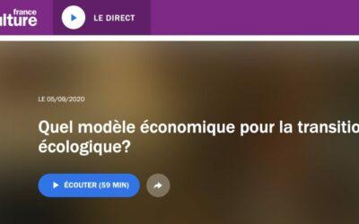 Podcast | Quel modèle économique pour la transition écologique ? | France Culture