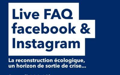 Live FAQ – Finance, reconstruction écologique, politique… j'ai répondu à vos questions en direct